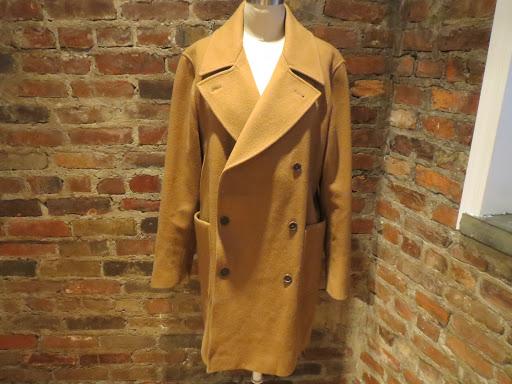 Miu Miu Tan Wool Coat