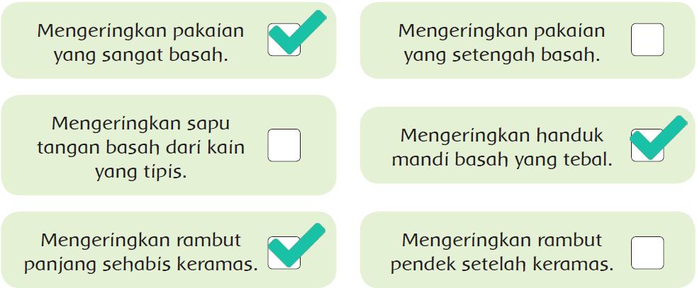 Kunci Jawaban Halaman 49, 50, 53, 54, 57, 58 Tema 6 Kelas 5
