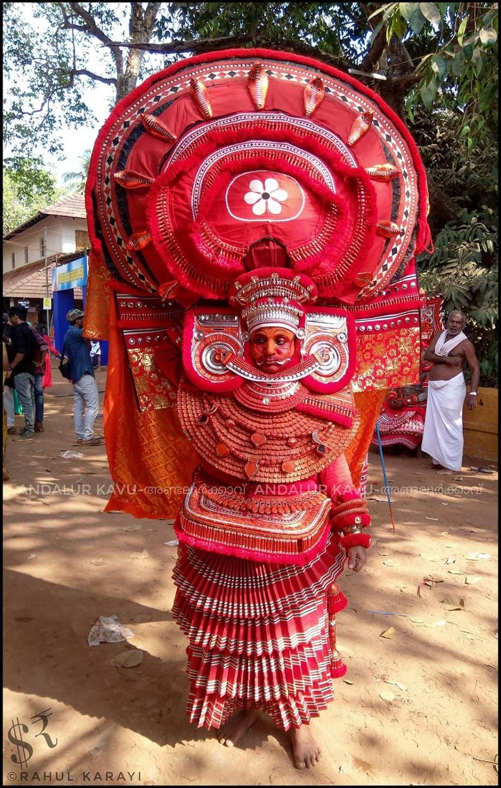 Theyyam Photos - Nappothi / Naga Bhagavathi