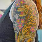 yellow girl arm - tattoos ideas