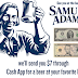 Free $7 From Sam Adams Beer Sent to Your Cashapp. Need a photo of your Vaccination Bandage (just a band aid on your arm) or Vaccination Sticker