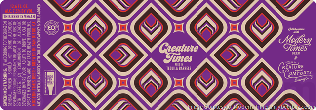 Modern Times & Creature Comforts Collaborate On Creative Times