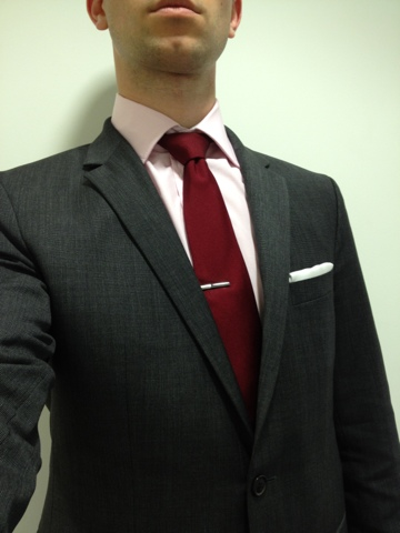 The humble suit for Grey shirt and tie combinations