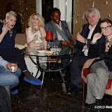 WWW.ENTSIMAGES.COM -   Lewis-Duncan Weedon, Lady Charlotte Lynham, Rohan Bonnick and Fossy Meade  at    Gin and Jazz Evening Palm Court at The Langham London Hotel October 10th 2013                                     Photo Mobis Photos/OIC 0203 174 1069