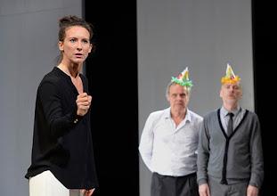 Photo: Wien/ Theater in der Josefstadt: KAFKA - EIN PROJEKT VON ELMAR GOERDEN. Premiere 25.4.2015. Regie: Elmar Goerden. Maria Köstlinger. Toni Slama, Andre Pohl. Foto: Barbara Zeininger