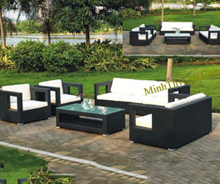 Rattan Sofa Set-MT114