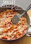 Skillet Lasagna Lightened Up