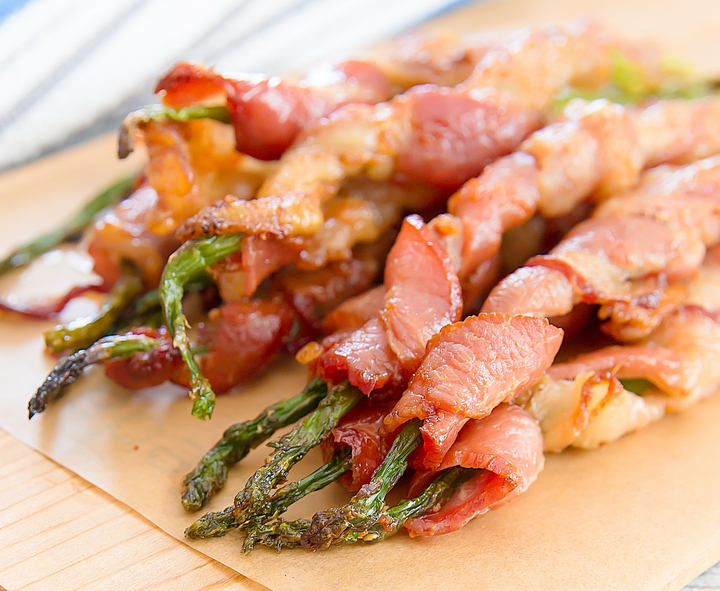 bacon wrapped asparagus photo