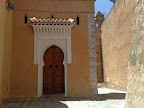 Puerta de una mezquita