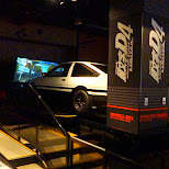 Initial D4 arcade stage LIMITED at SEGA Joypolis - the real deal in Odaiba, Tokyo, Japan