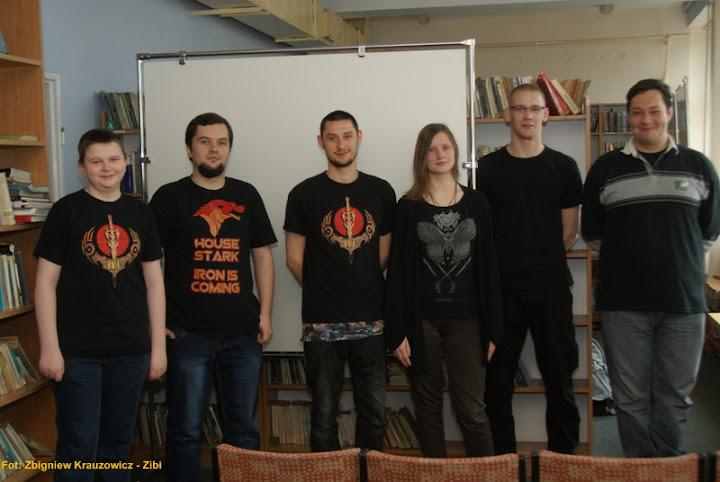 Członkowie NKF na XIII Ogólnopolski Tydzień Bibliotek w Nowym Targu.