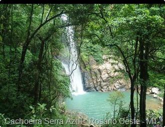 Cachoeira Serra Azul - Rosário Oeste - MT