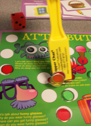 Vocabulary Chipper Chat Magnetic Chips