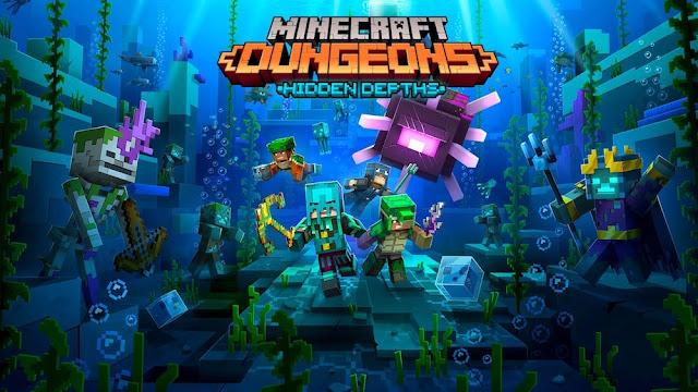 Arte de Minecraft Dungeons: Hidden Depths