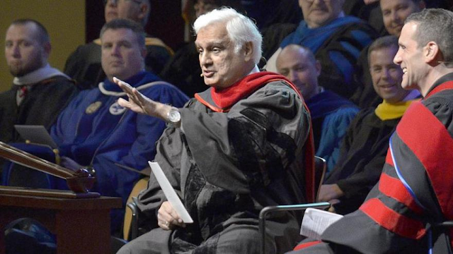 Famed Evangelist Ravi Zacharias engaged in sexual misconduct, his ministry says