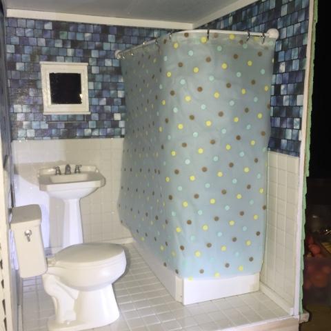 Beyondbaffled Diy Dollhouse Shower Curtain