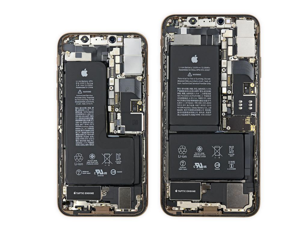 Ifixit Iphone Xs Xs Maxの分解写真の壁紙を公開 こぼねみ
