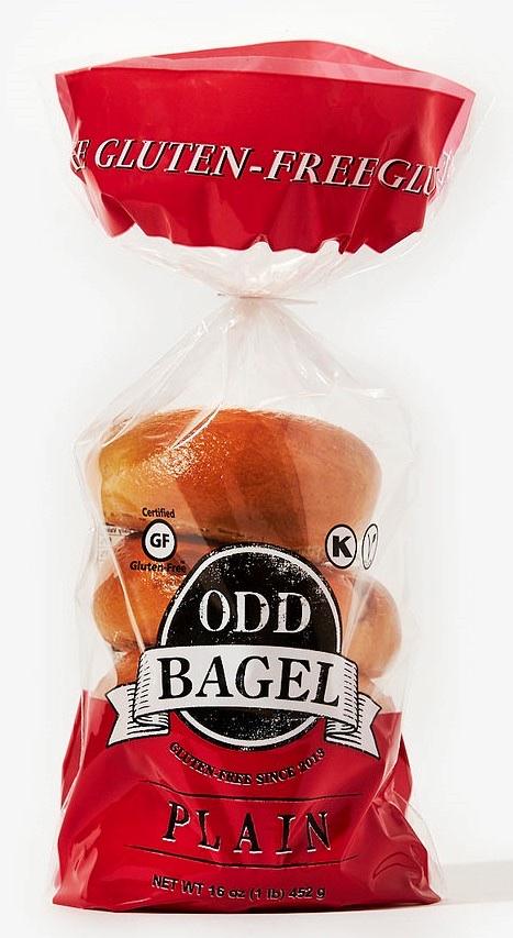 Plain Bagel, Gluten free And Vegan