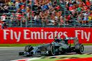 Nico Rosberg, Mercedes W05 going fast