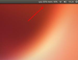 Indicator-Sysmonitor su Ubuntu 13.04 Raring