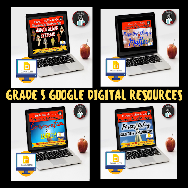 GRADE 5 ONTARIO SCIENCE DIGITAL RESOURCES