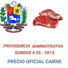 CARNE - Precio Oficial - Providencia Administrativa # 055-2015