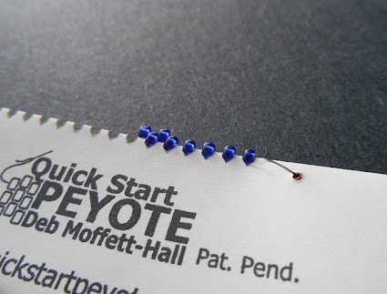 Using Quick Start Peyote Stitch Panels
