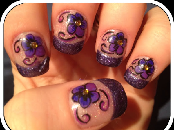 Day 87 - Violets