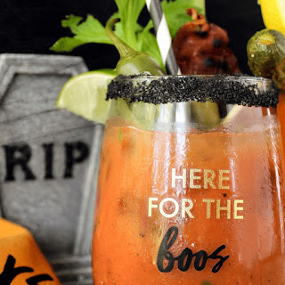 Halloween Edition Cocktail.