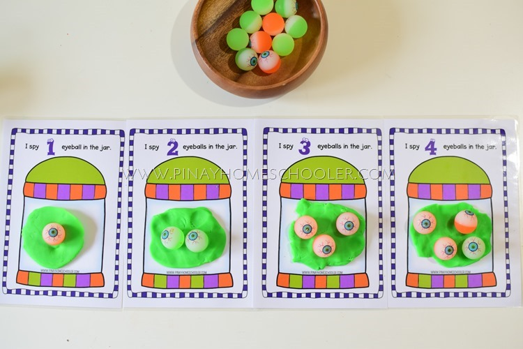 Halloween Themed Counting Activities