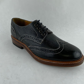 Stacy-Adams NEW Black Leather Wingtips