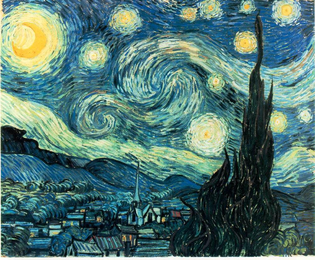 Marquise's blog: The Starry Night. 1889.