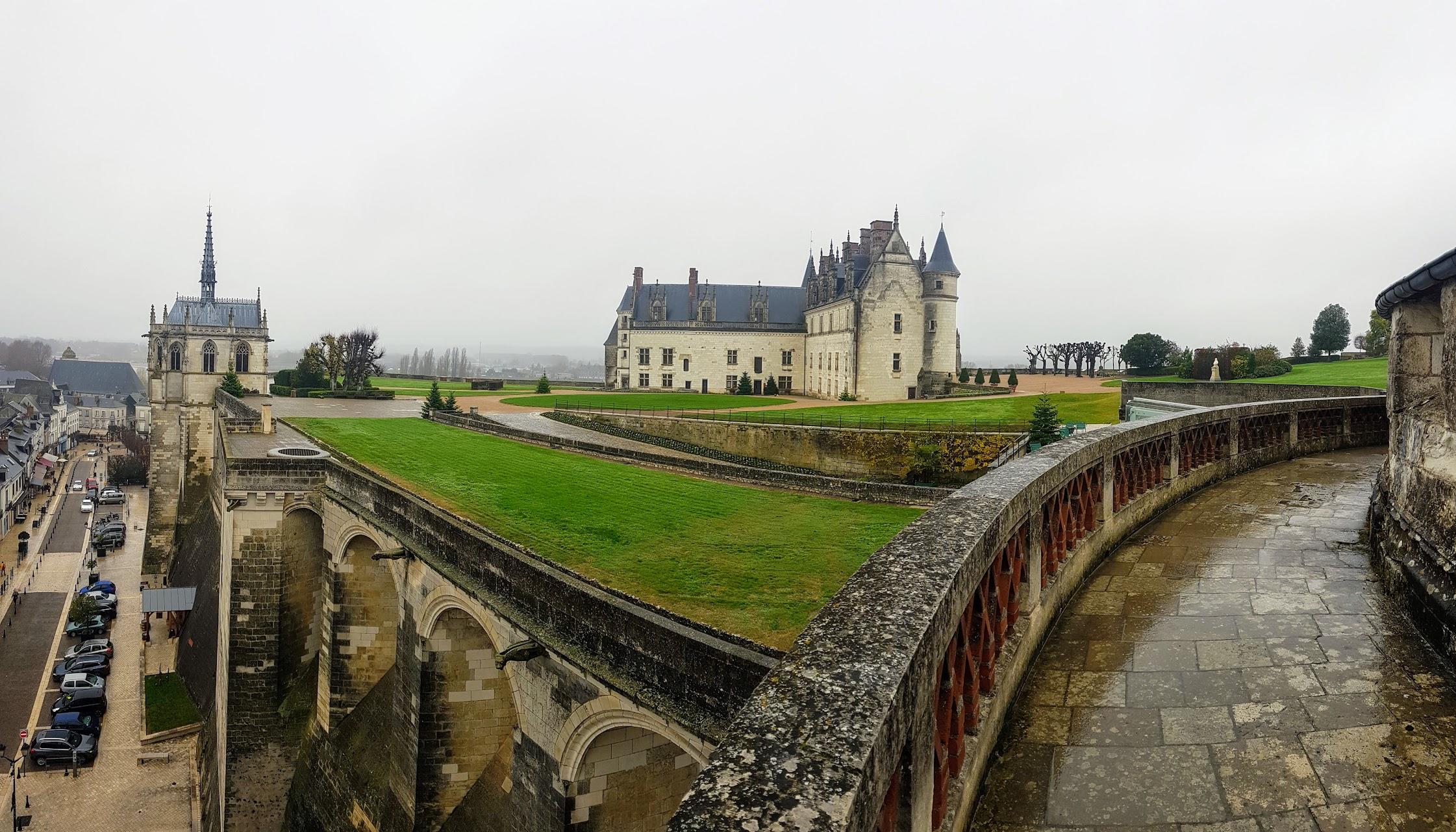 Castillos del Loira. Castillo Real de Amboise