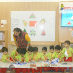 Triangle Day Celebrated by Nursery Morning Section at Witty World, Chikoowadi (2018-19)