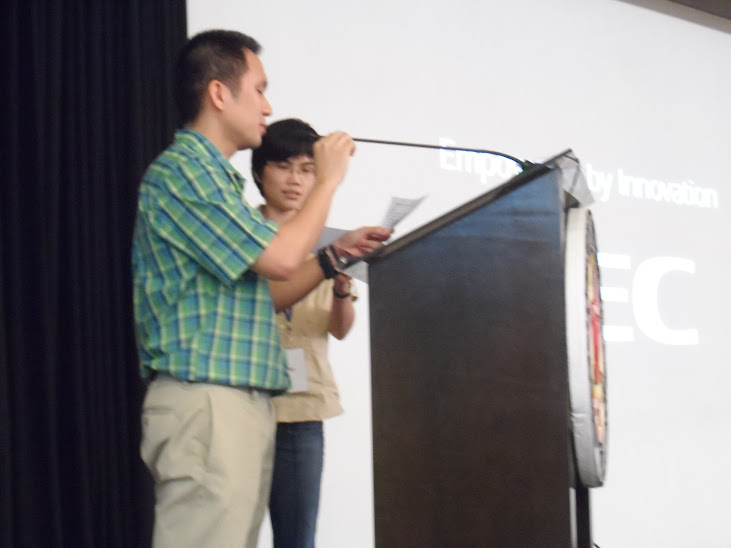 SPP President Dr. Raphael Guerrero and First Vice-President Dr. May Lim