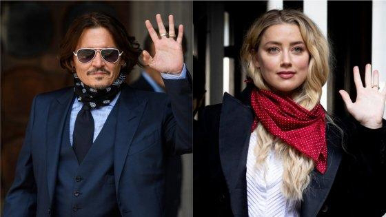 Johnny Depp e Amber Heard: um divórcio com roupa suja para explodir a lavadora