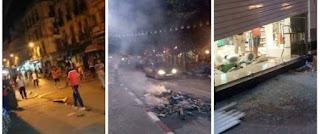 Vidéo: Des émeutes entre forces de l'ordre et vendeurs informels à Annaba, des blessés et des magasins saccagés