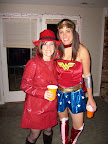 Carmen Sandiago and Wonder Woman