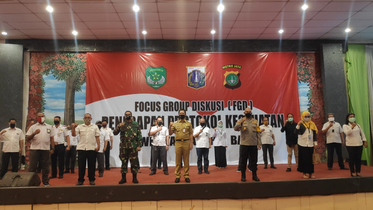Hadapi New Normal, Tiga Pilar Gelar FGD
