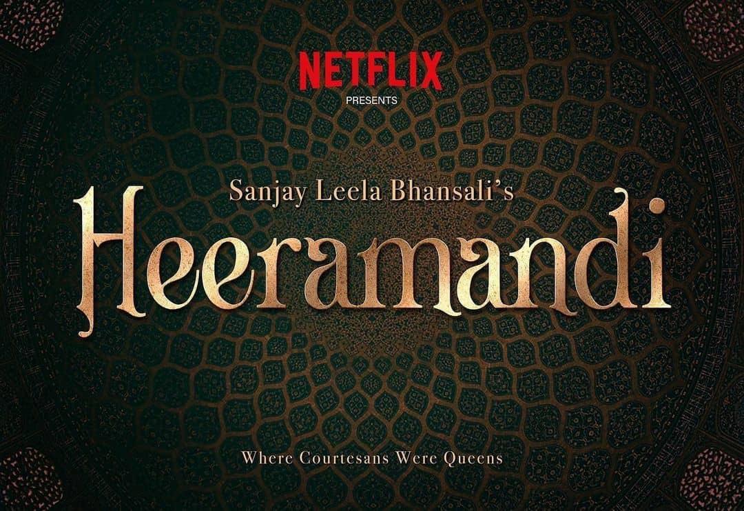 Poster Heeramandi