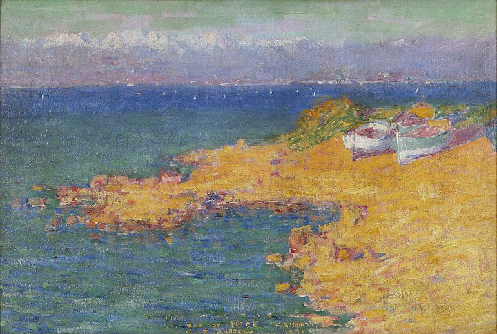 John Peter Russell - Bay of Nice, 1891