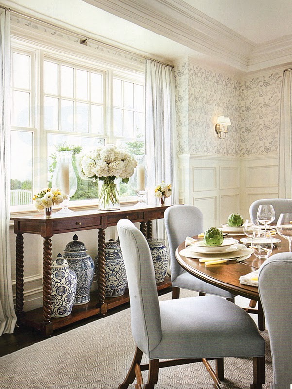 ... with Kravet and and a line of furniture through Hickory Chair.Here are  some beautiful examples of her work.What interior design language speaks to  you?