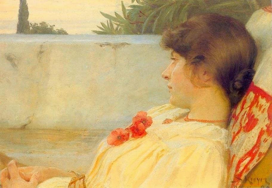 Peder Severin Krøyer - Marie in Ravello