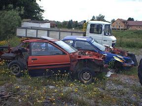 Abandoned AE86