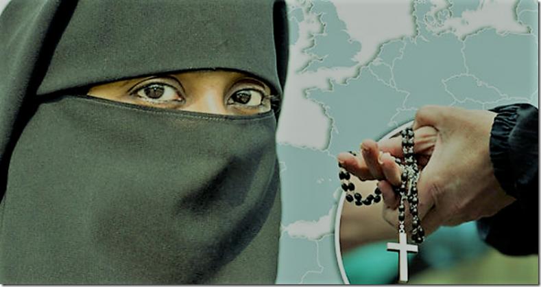 Αυξάνονται οι μουσουλμάνοι, μειώνονται οι χριστιανοί στην Ευρώπη