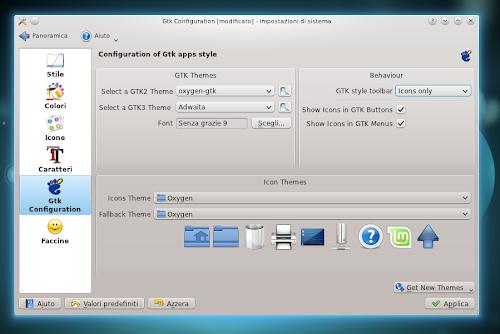 KDE GTK+ Configurator 2.0