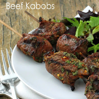 Asian Spiced Beef Kabobs
