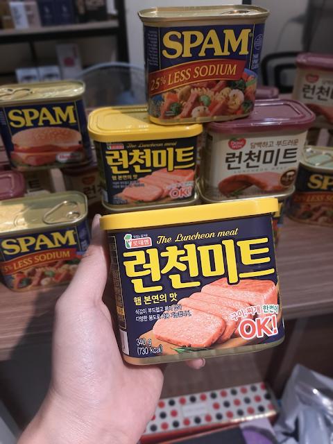 Thịt Hộp Spam Mỹ và Hàn Quốc