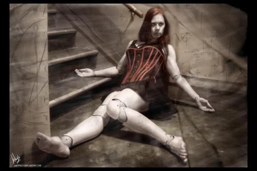 Gothic Toy Doll Red, Gothic Girls
