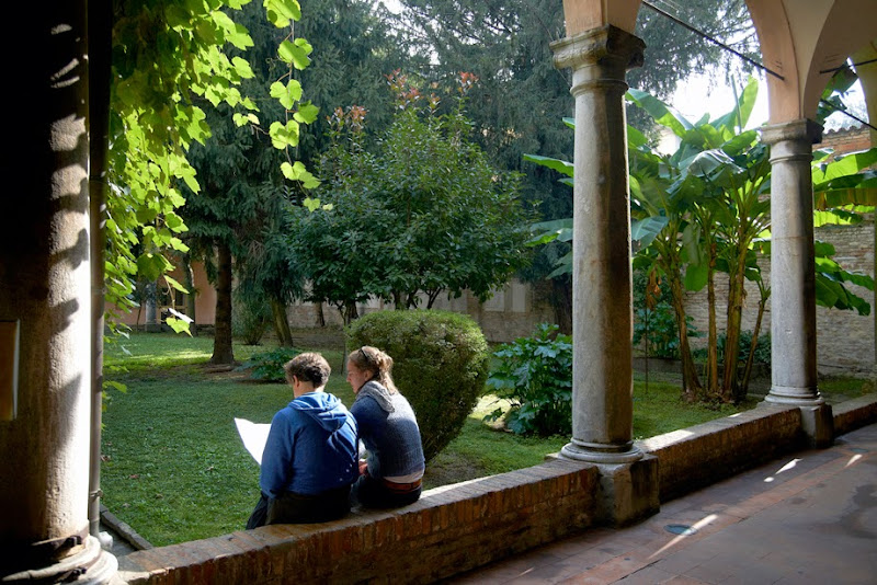 56. Sunny day in the Basilica of San Vitale. Ravenna. 2013